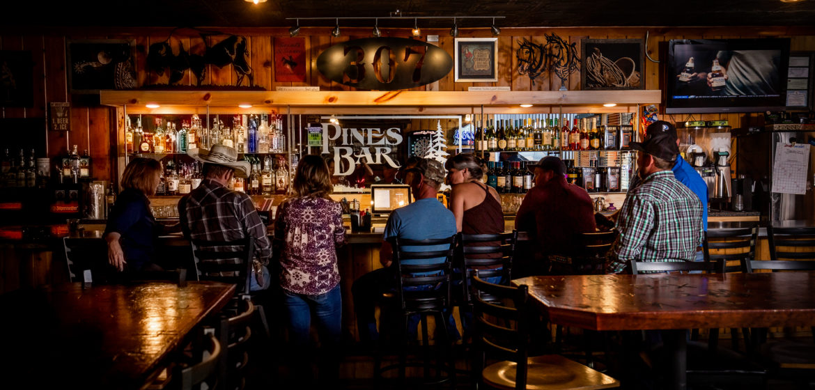 The Pines Bar and Liquor Store in Thayne Wyoming